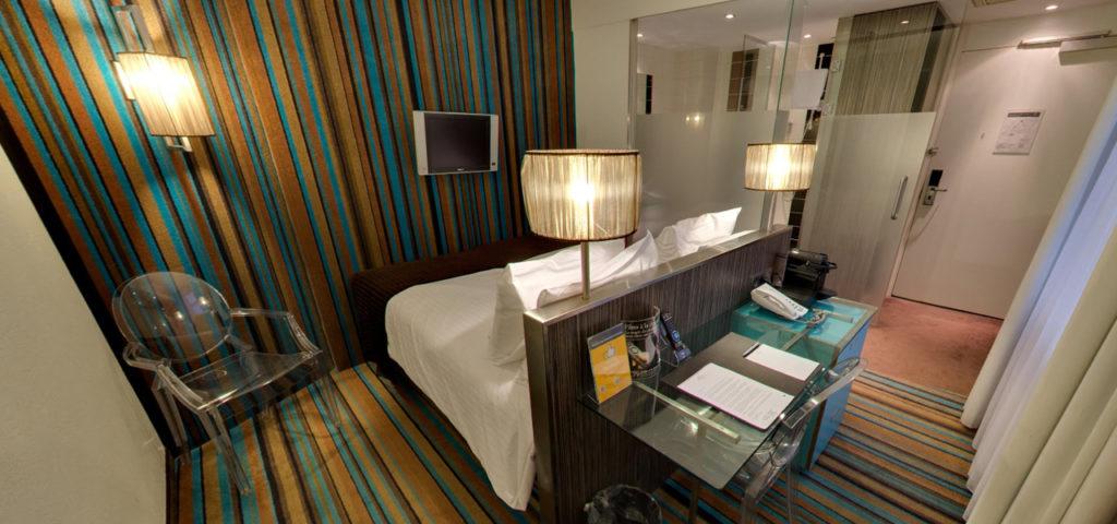 360º foto Twin Kamer WestCord City Centre Hotel Amsterdam - Westcord Hotels