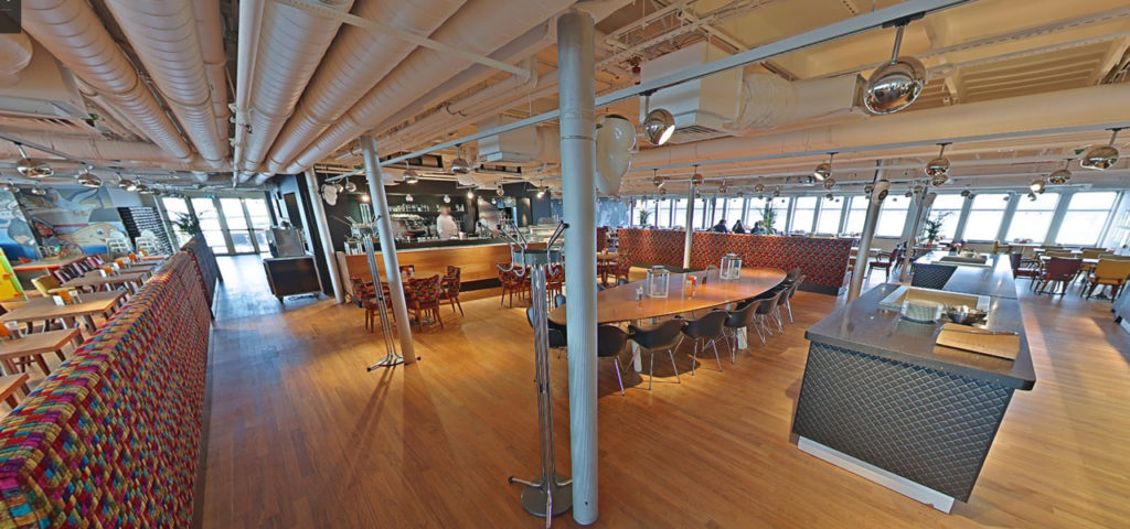 360º foto Lido Restaurant ss Rotterdam - Westcord Hotels