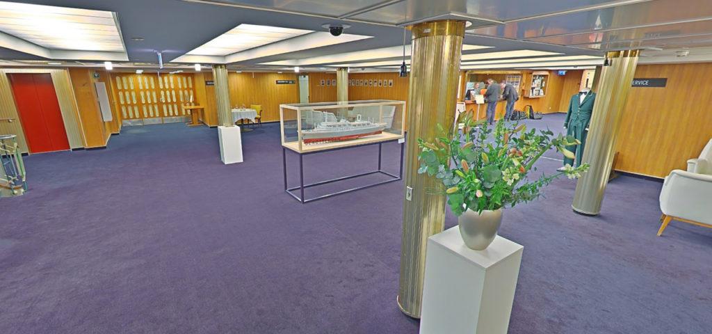 360º foto lobby/receptie ss Rotterdam - Westcord Hotels