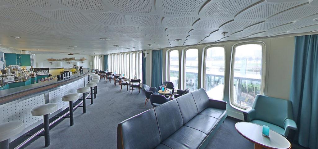 360º foto Ocean Bar ss Rotterdam - Westcord Hotels