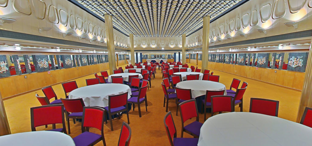 360º foto Odyssee Room ss Rotterdam - Westcord Hotels