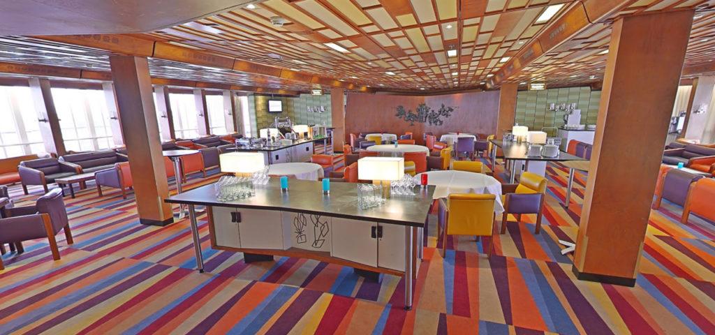 360º foto Smoking Lounge ss Rotterdam - Westcord Hotels