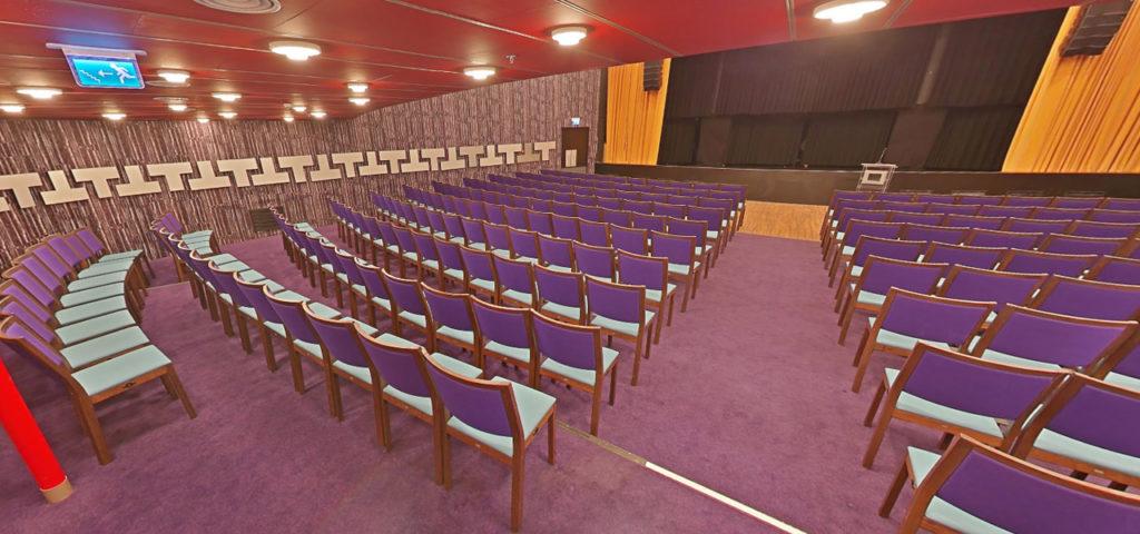 360º foto Theatre ss Rotterdam - Westcord Hotels