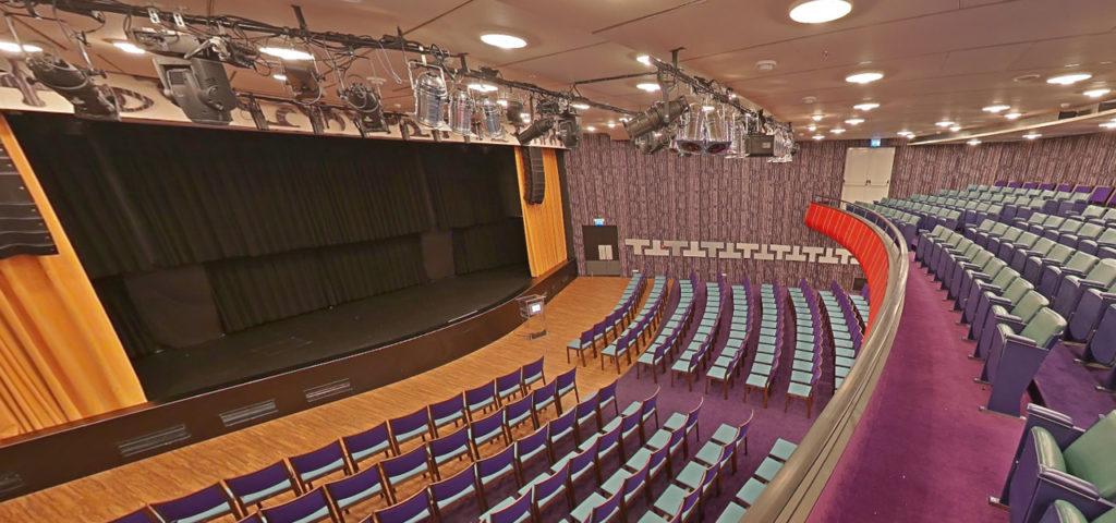360º foto balkon Theatre ss Rotterdam - Westcord Hotels