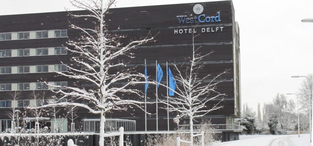 westcord hotel delft in de sneeuw - Westcord Hotels