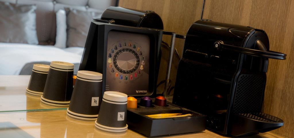 Nespresso machine WestCord WTC Hotel Leeuwarden - Westcord Hotels
