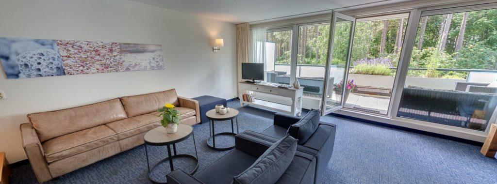 360º foto Appartement Large + Bedbank ApartHotel Boschrijck - Westcord Hotels