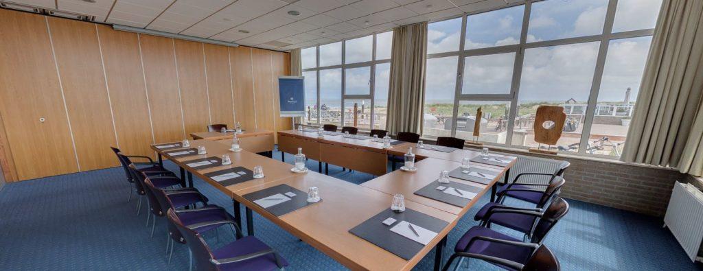 360º foto Noordzee Zaal Strandhotel Seeduyn - Westcord Hotels