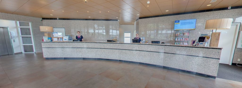 360º foto receptie Strandhotel Seeduyn - Westcord Hotels
