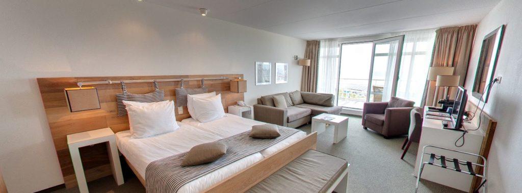 360º foto Superior Deluxe Zeezijde Strandhotel Seeduyn - Westcord Hotels