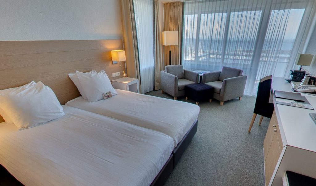 360º foto Superior kamer Zeezijde Hotel Schylge - Westcord Hotels