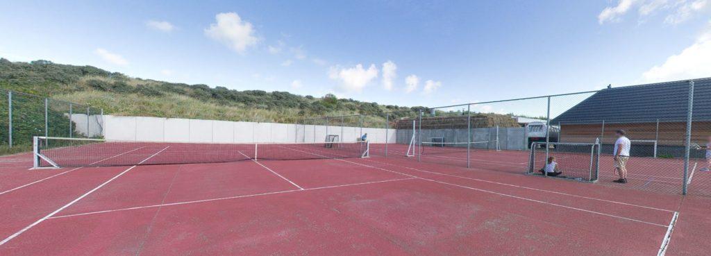 360º foto Tennisbaan Strandhotel Seeduyn - Westcord Hotels