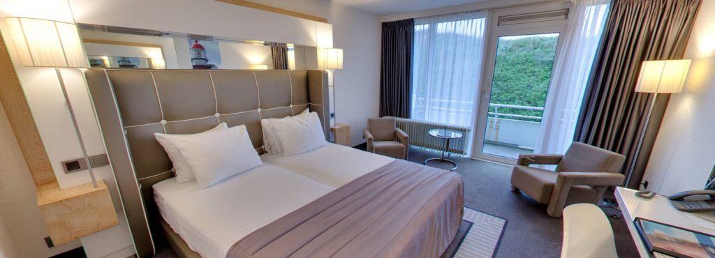 360º foto Tweepersoonskamer Strandhotel Seeduyn - Westcord Hotels