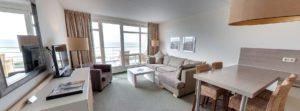 360º foto vd Schoot Suite Strandhotel Seeduyn - Westcord Hotels