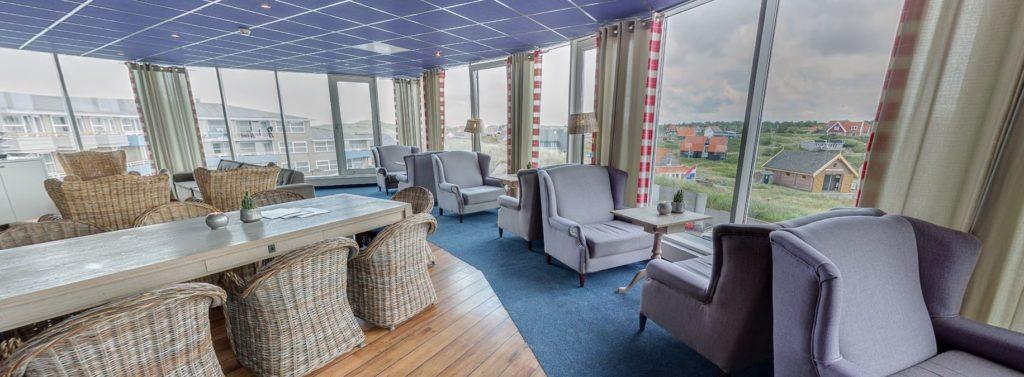 360º foto Vuurtoren Lounge Strandhotel Seeduyn - Westcord Hotels
