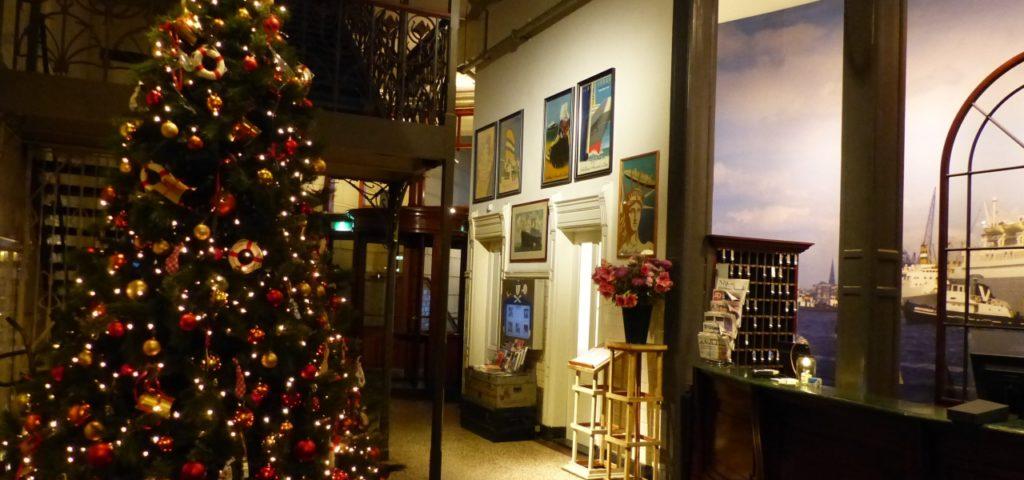 Hotel New York in kerstsfeer - Westcord Hotels