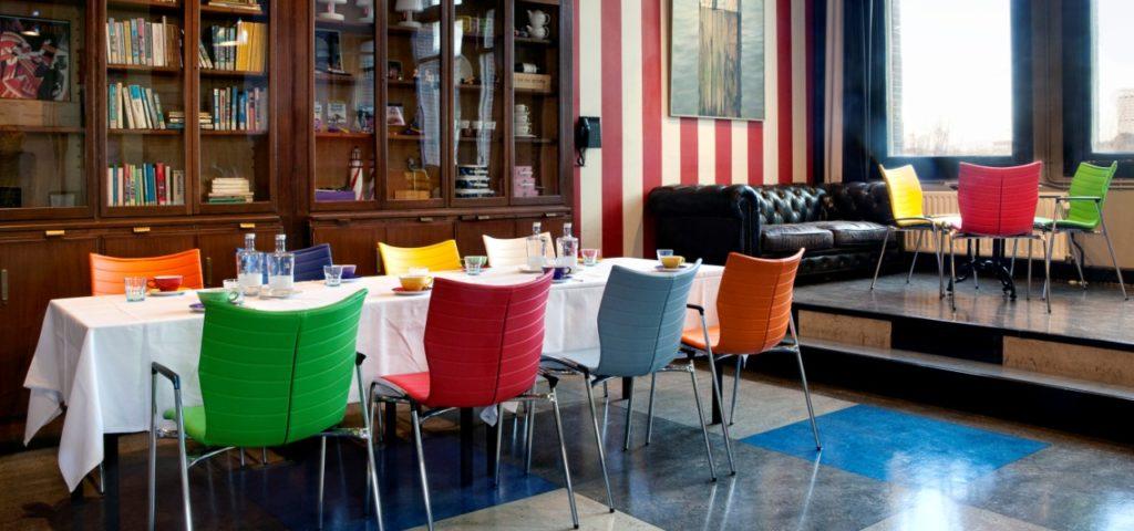 Bibliotheek Hotel New York Rotterdam - Westcord Hotels