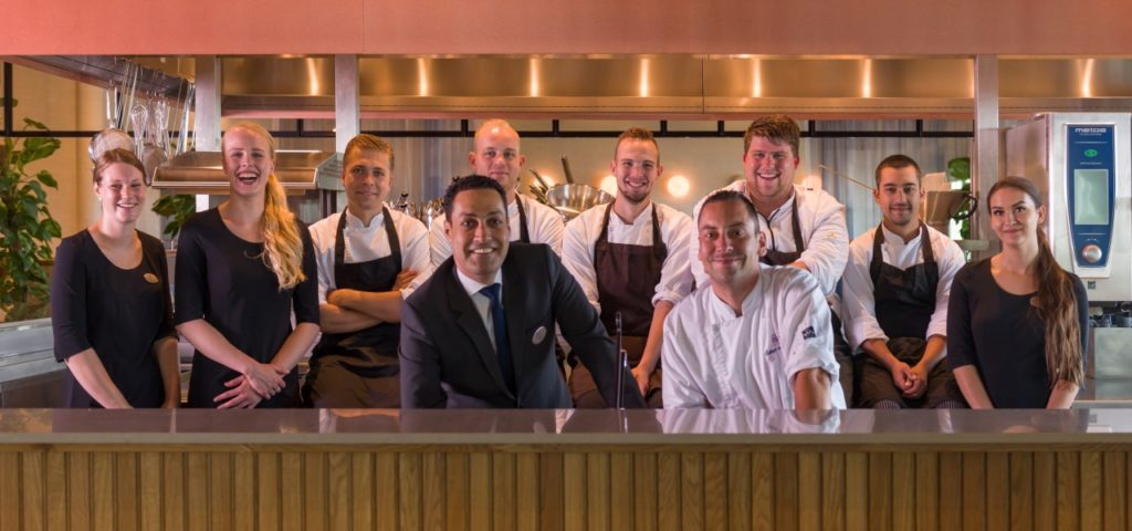 Nieuwe open keuken restaurant élevé - WestCord Hotels