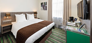 Cosy Twin Room City View City Centre Hotel Amsterdam - Westcord Hotels