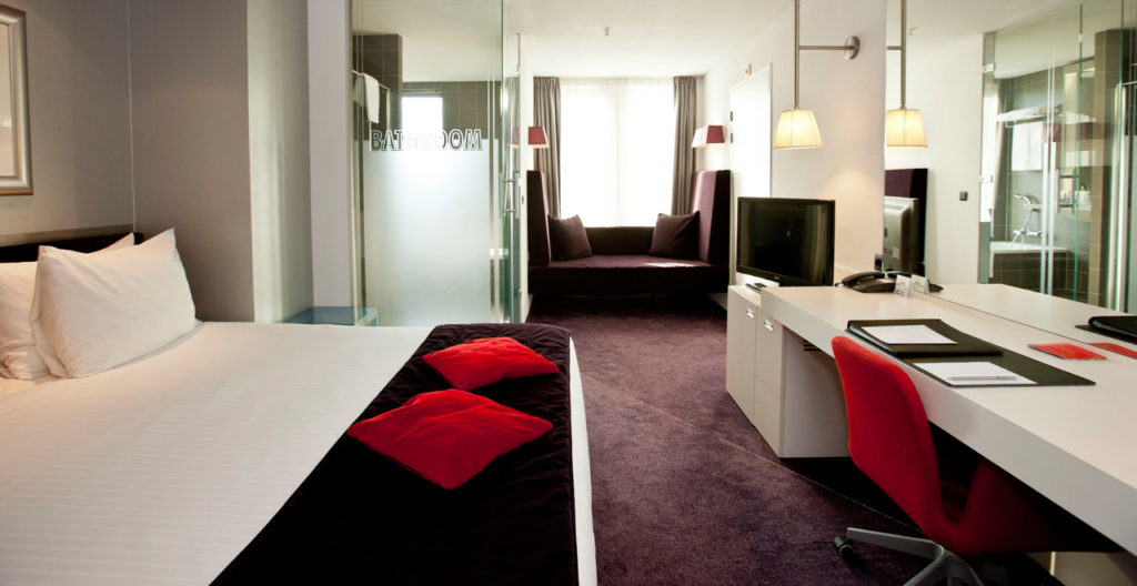 Large Design Kamer Double Art Hotel Amsterdam - Westcord Hotels