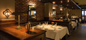 Restaurant NY Basement in Hotel New York - Westcord Hotels
