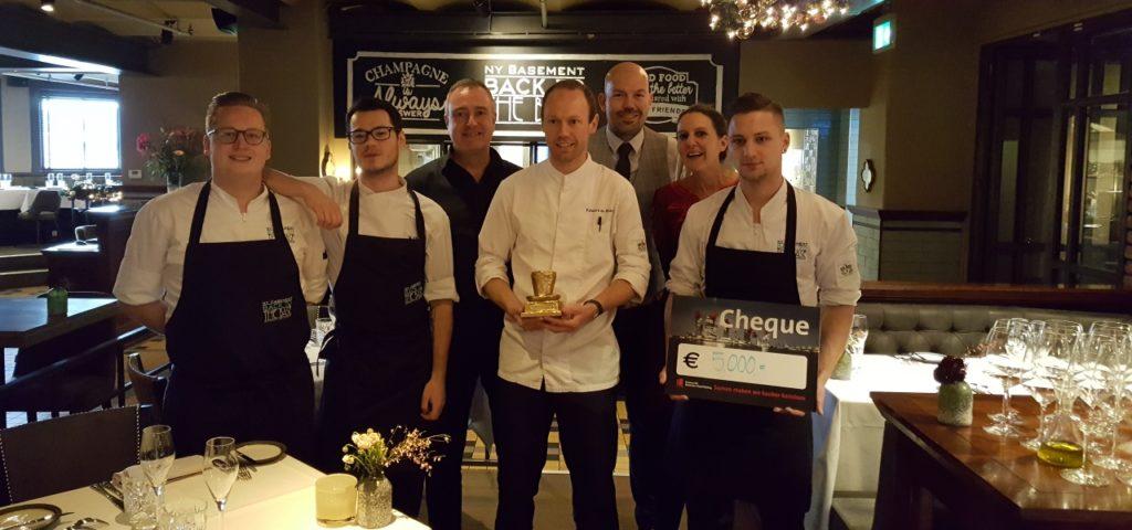NY Basement winnaar van de Gouden Culinaire Hoed - WestCord Hotels