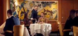 Rotterdam - Clubroom - Diner - ss Rotterdam - Westcord Hotels