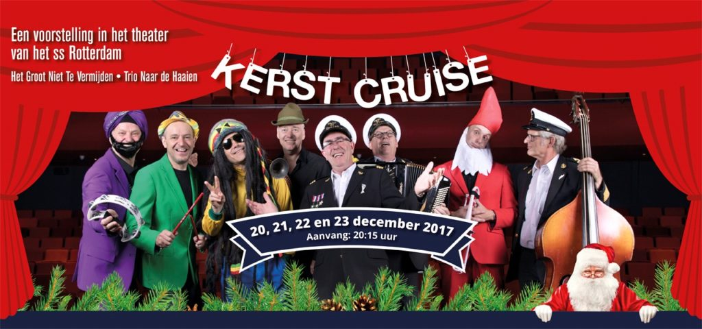 Theatershow Kerst Cruise - WestCord Hotels
