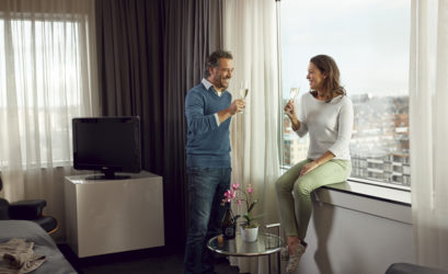 WTC – City View Deluxe Kamer - WestCord Hotels