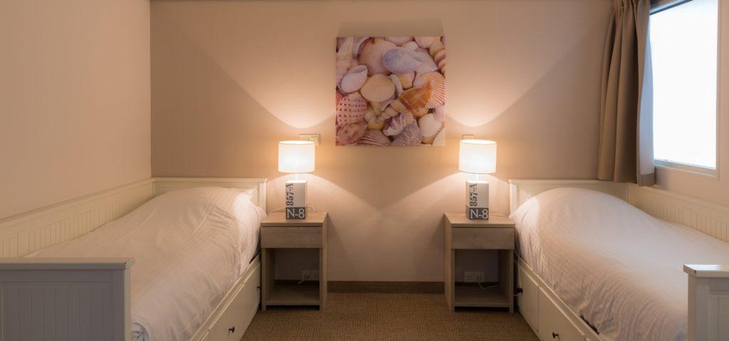 Appartement Large Strandhotel Seeduyn Slaapkamer - Westcord Hotels