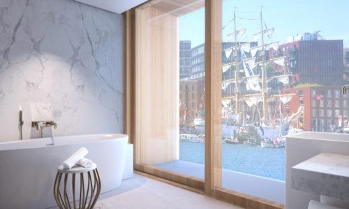 Junior Suite met bad, douche en balkon - WestCord Hotels