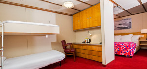 Family Room Original ss Rotterdam - Westcord Hotels