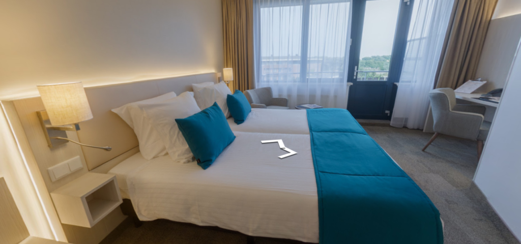 Comfort Kamer in 360 - Westcord Hotels