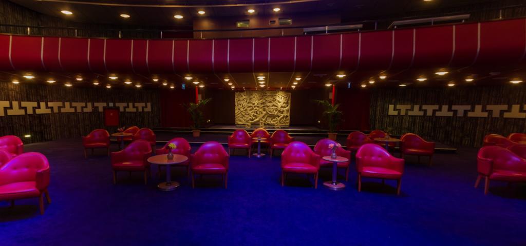 Theatre zaal in 360˚ - Westcord Hotels