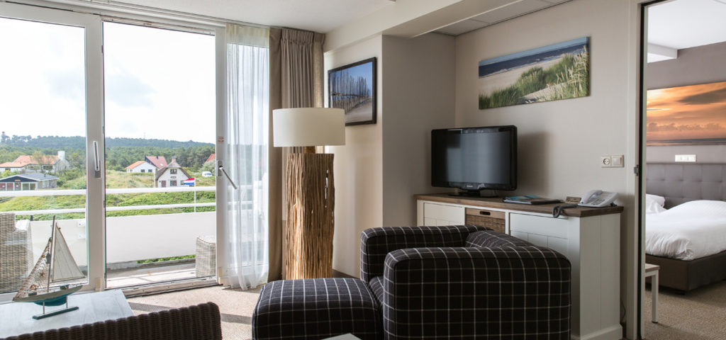 Woonkamer Appartement Large/Extra Large in Strandhotel Seeduyn - Westcord Hotels