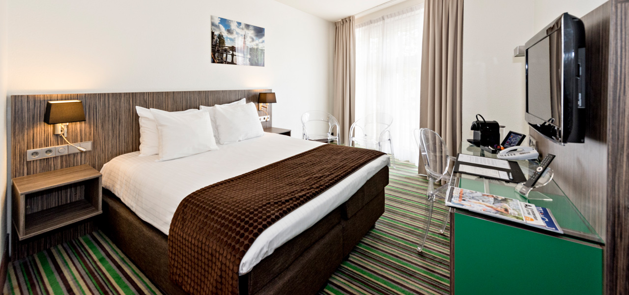 Double of Twin Kamer met city view - WestCord Hotels