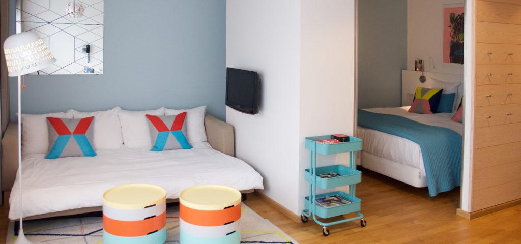 familiekamer-blauw-westcord-hotel-delft02 - Westcord Hotels
