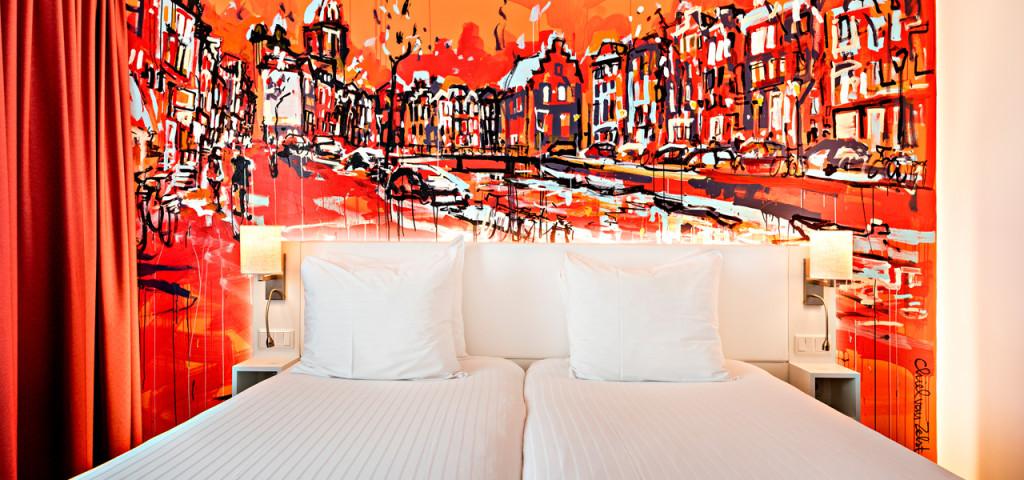 Superior Room Art Hotel Amsterdam - Westcord Hotels