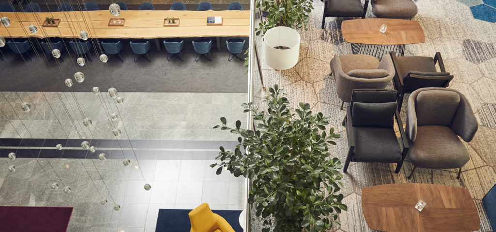 Westcord WTC Hotel Leeuwarden - -Foyer 1e Etage-1 - Westcord Hotels
