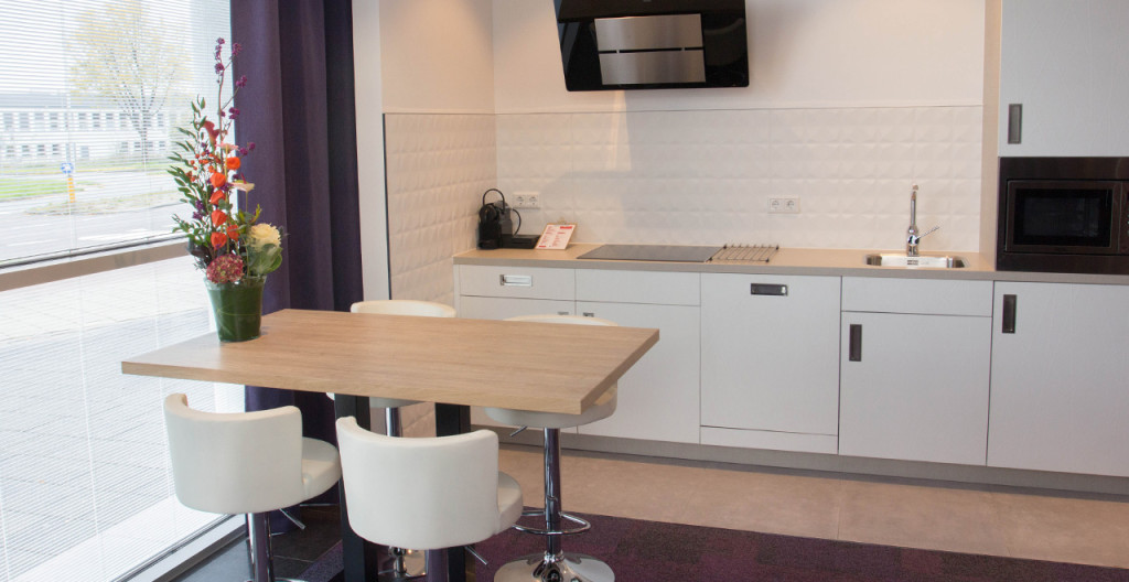 Keuken appatement Art Hotel Amsterdam - Westcord Hotels