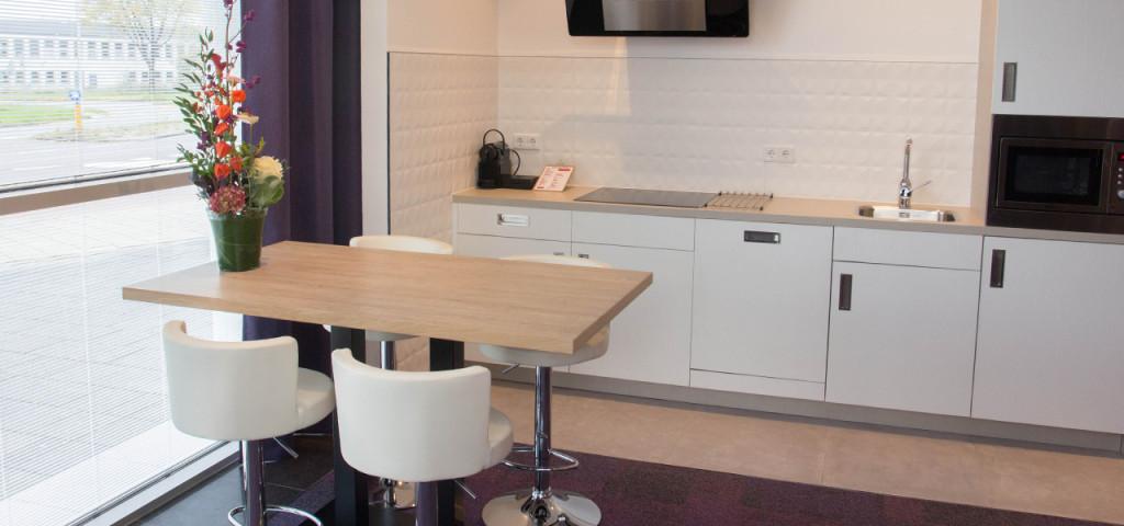 Keuken in Art Hotel Amsterdam **** - Westcord Hotels