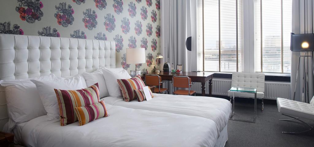 Wilhelminapier Kamer Hotel New York Rotterdam - Westcord Hotels