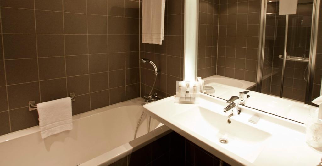 Badkamer Junior Suite Art Hotel Amsterdam - Westcord Hotels