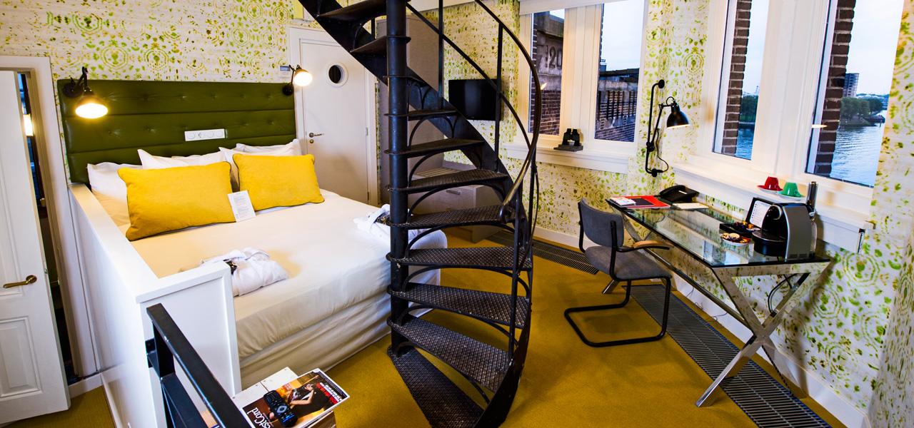 Torenkamer Maaszijde - WestCord Hotels