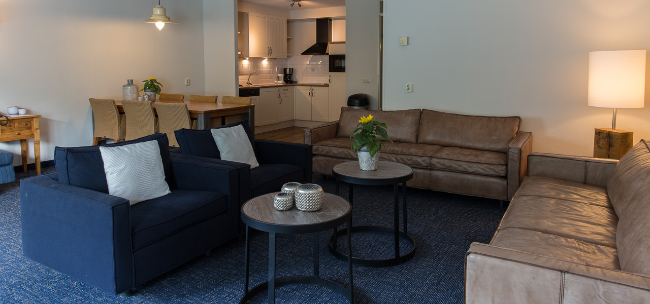 Appartement Large + bedbank - WestCord Hotels