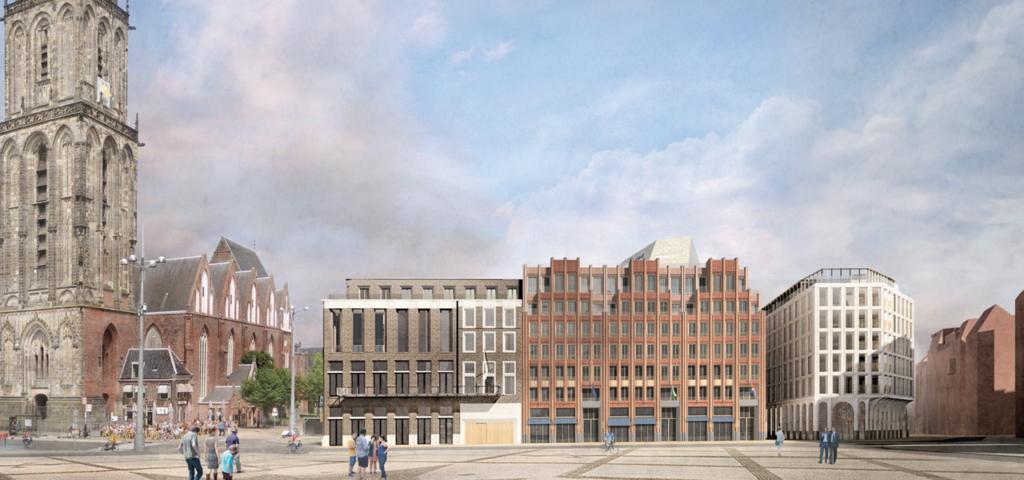 Start bouw WestCord Market Hotel Groningen - WestCord Hotels