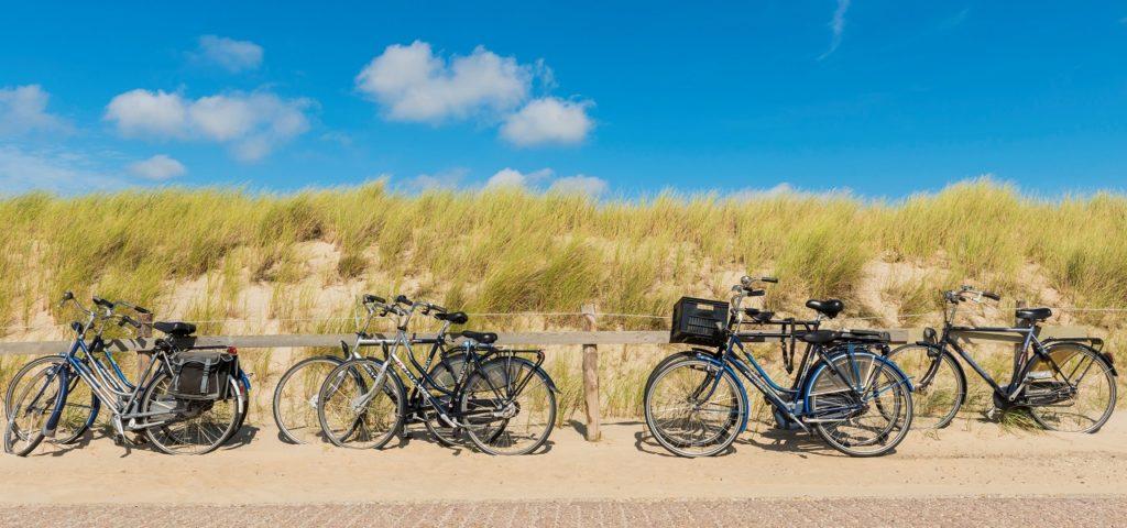 WestCord Strandopgang fietsen bij strand - Westcord Hotels