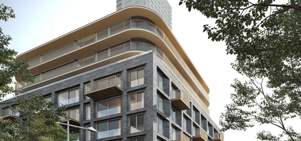 Artist impression Hotel Chicago Rotterdam (Credits: Team V Architectuur) - Westcord Hotels