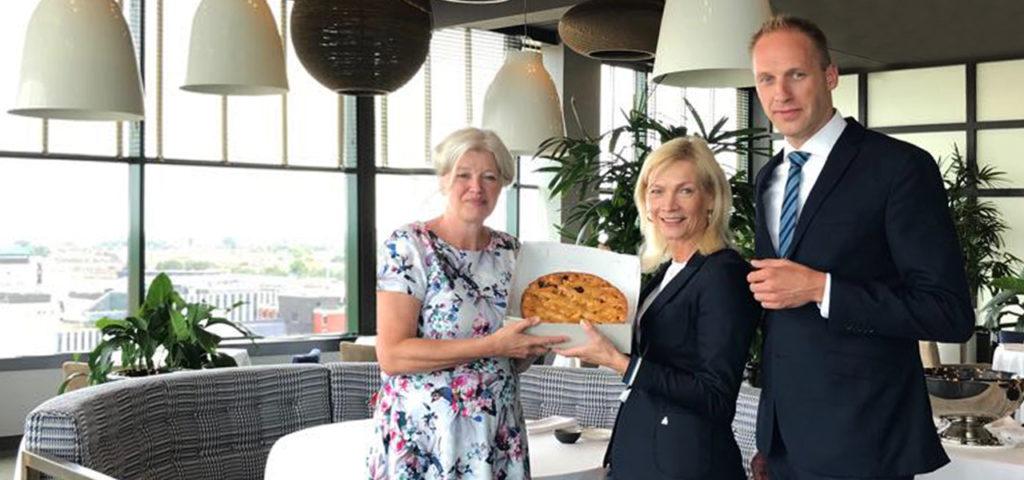 PERSBERICHT: WestCord WTC Hotel Leeuwarden start samenwerking met Blooming Bakery - WestCord Hotels