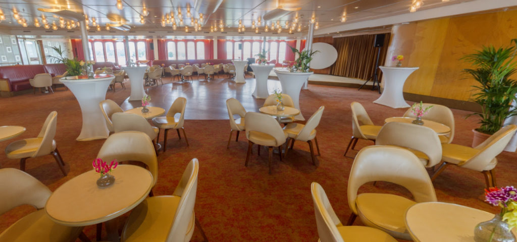 Bekijk de Queen's Lounge in 360° - Westcord Hotels